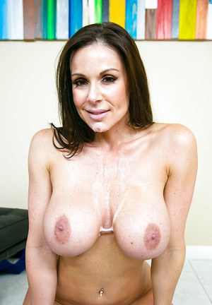Reality wife Kendra Lust has her tight milf pussy licked out and nailed