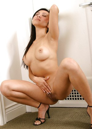 Big tits amateur Asian Jinle takes part in an amazing undressing scene