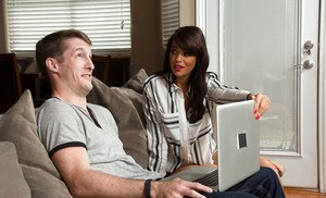 Hardcore fuck with a beautiful housewife Ava Dalush and her boyfriend