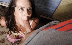 Mature mom Tia has her tight ass nailed hardcore with a big cock