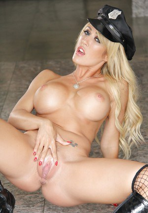 Police milf Capri Cavanni poses in her awesome sexy uniform!