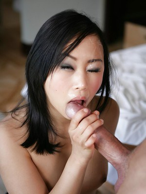 Awesome Asian girl Bella Ling is happy with her new partner's cock