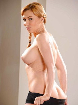 Babe with pointy nipples Sasha Sean desires to be watched and loved