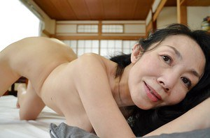 Great looking natural tits on Tsuyako Miyataka who is a hairy mature