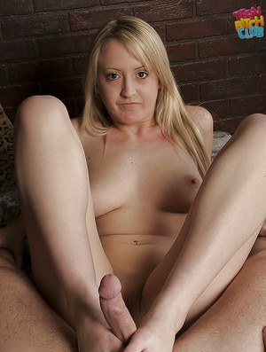 Just her feet are enough for amateur Piper Parker to make a guy cum