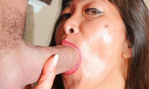 Amateur Oriental lady Sakura Lei having her asshole licked before anal sex
