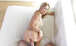 Busty blonde MILF Alexis Fawx receiving hardcore fucking of hairy snatch