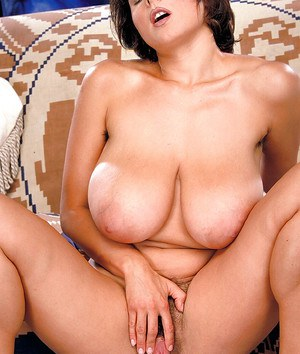 Mature French lady Chloe Vevrier flaunting large all natural tits