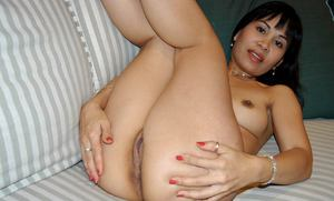 Asian first timer Paris spreading pink pussy wide open after undressing