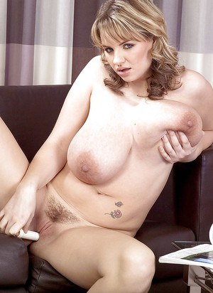 Chunky Euro pornstar Kelly Kay unveiling massive boobs and trimmed snatch