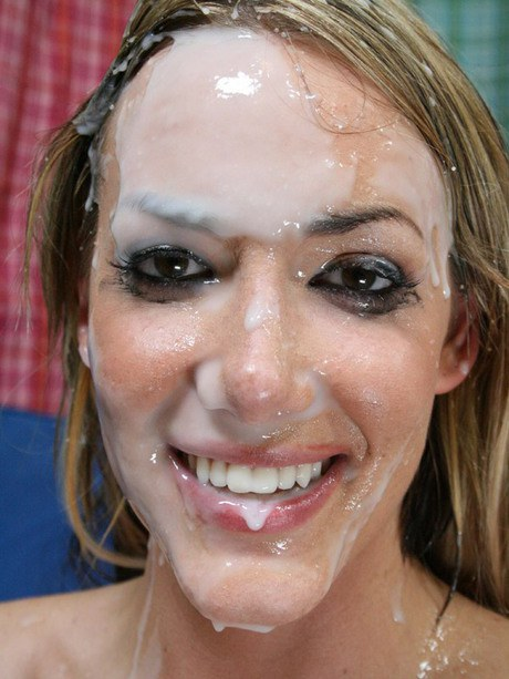 Delightful lady Audrey Elson gets naked to copulation a roomy moron with bukkake