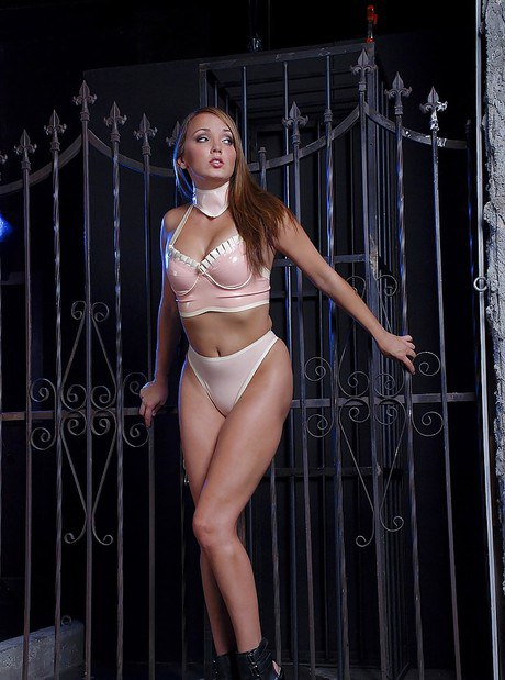 Big tits BDSM lover Charlie Laine is posing in her sexy underwear  538490