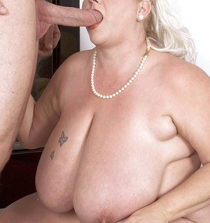 Chubby mature with great juggs gets screwed hardcore in flexible positions