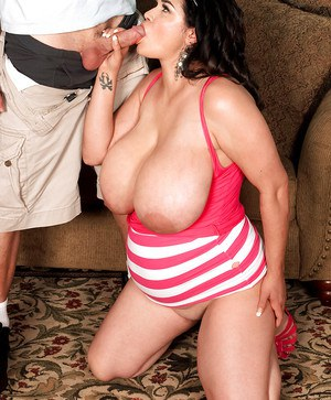 Fat latina Haydee Rodriguez has her big breasts bouncing from hard fucking