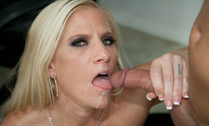 Hot blonde MILF teacher Amber Irons in hot hardcore reality fuck show.