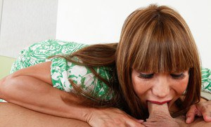 Asian mommy Ava Devine proves she is a sexually skillful one