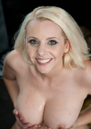 Famous milf Mandy Sweet takes cock and gets a messy facial