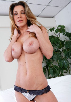 Kayla Paige is a milf with perfect tits and holes � see it here