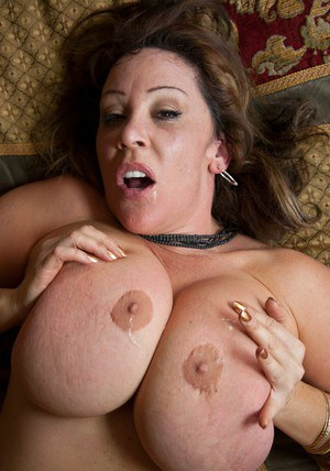 Raunchy MILF with fat melons Kandi Cox riding hard dick in her bedroom