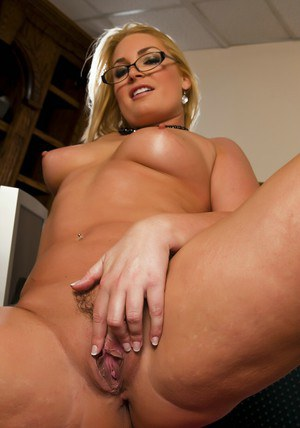 BBW MILF teacher Flower Tucci showing off big ass and fingering pussy