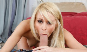 Stupefying blonde wife Monique Alexander gets stuffed with hard meat