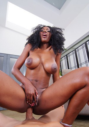 African wife Nyomi Banxxx getting her ebony booty banged hard
