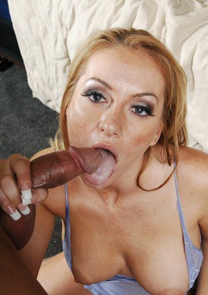 Blond BBW wife stripped from a blue nighty and fucked hard core