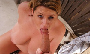 Busty BBW cowgirl Lisa Sparxxx fucking her extremely well hung cowboy