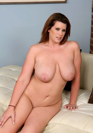 BBW wife Lisa Sparxxx strips huge tits and booty from a sheer nighty