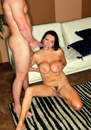 Fat mature Angelica Sin gets her heated pussy fucked with a long dick
