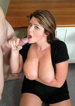 MILF teacher Lisa Sparxxx pleasing cock with her huge tits and cunt