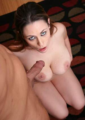 Heated wife with huge tits Rucca Page fucks meaty cock like a slut