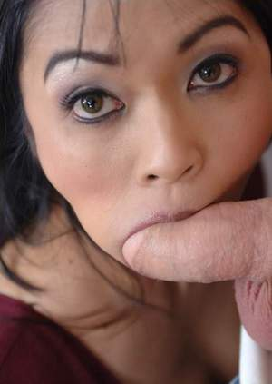 Sexy asian MILF teacher Mika Tan gets her shaved slit shafted hard