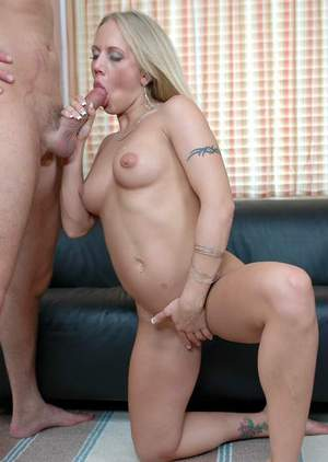 Blond MILF with cute boobs Kylie Wilde licked and penetrated hardcore