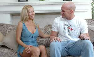 Busty mom Kimmie Morr got her shaved cunt and tight asshole fucked