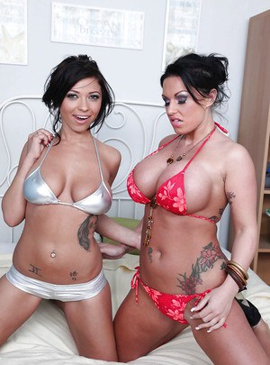 Kerry Louise and her MILF lesbian girl are playing with each other
