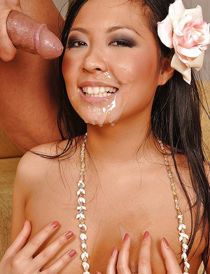 Asian babe gets a load of cum and is hardcore fucked in the ass