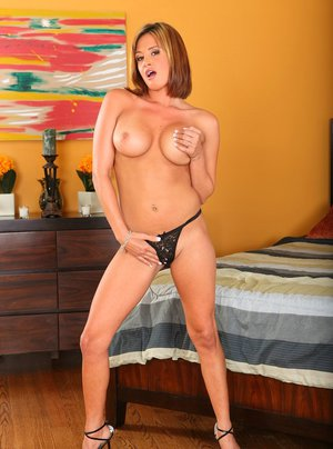Gorgeous wife with big tits Tory Lane exposing her filthy pussy