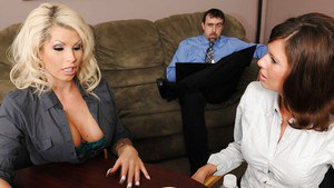 Big titted MILF teacher Brooke Haven banged hard by her student