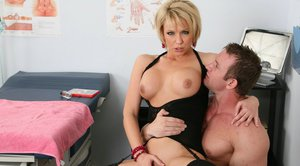 MILF doctor Brianna Beach looks for hardcore fuck and she finds it
