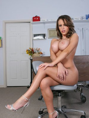 Sexy babe with big butt Jenna Presley touching her hot holes