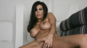 Sexy MILF with big boobs Shay Sights spreads pussy for naughty games