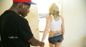 Young babe Samantha Sin is into having hot interracial sex