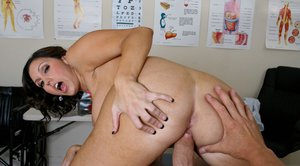 MILF babe in uniform Dylan Ryder has her cunt licked as never before