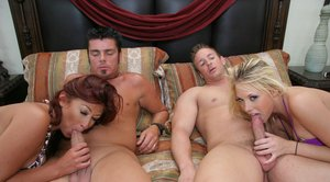 Shawna Lenee and Lucky Benton are getting pleased in a hot orgy