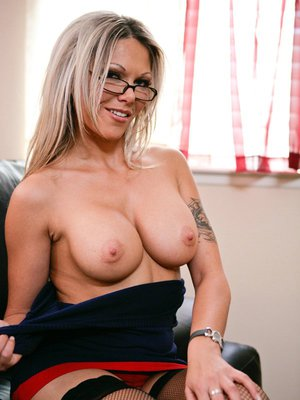 Ana Nova with big tits stretches her butt for anal sex adventures