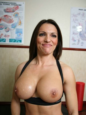 Hot sports MILF babe with big tits getting ass fucked hardcore