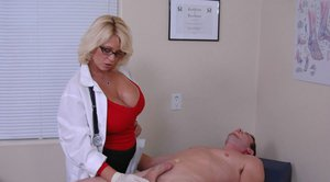 Sexy MILF in uniform Charlee Chase gets her cunt fucked hardcore