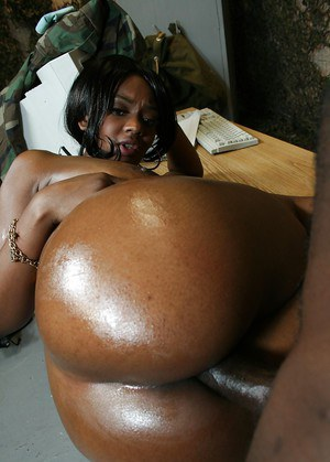 Ebony babe Baby Cakes stripping to feel a meaty cock ripping her cunt