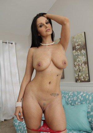 Busty MILF with a big ass Ava Addams playing with her craving pussy